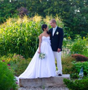 Mountain Fare Inn Outdoor Wedding