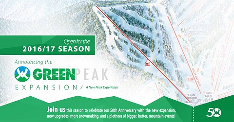 New Terrain at Waterville Valley for 2016-17!